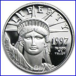 1/10 oz Proof Platinum American Eagle (Random Year, withBox & COA) SKU #60189