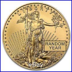 1/2 oz Gold American Eagle BU (Random Year) SKU #2