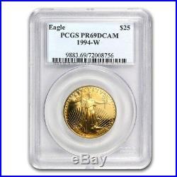 1/2 oz Proof Gold American Eagle PR-69 PCGS (Random Year) SKU #83512