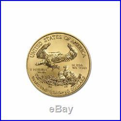 1/4 oz Gold American Eagle $10 US Mint Gold Eagle Coin 2017