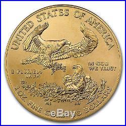 1 oz Gold American Eagle Coin Random Year BU SKU #84672