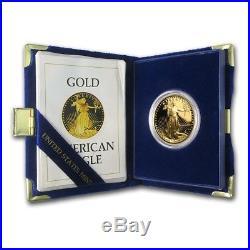 1 oz Proof Gold American Eagle (Random Year, withBox & COA) SKU #59248