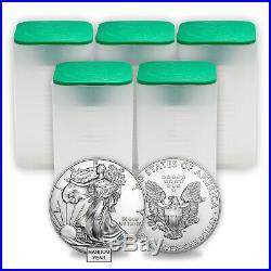 1 oz Silver American Eagle BU (Random Year) Lot of 100 eBay
