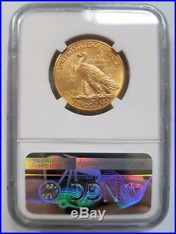 1932 Indian Head $10 Ten Dollar NGC MS 64 Eagle American Gold Coin