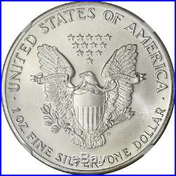 1986 American Silver Eagle NGC MS70