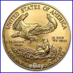 1988 1 oz Gold American Eagle BU (MCMLXXXVIII) SKU #7439