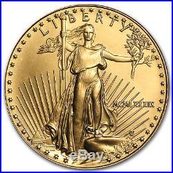 1989 1 oz Gold American Eagle BU (MCMLXXXIX) SKU #7671