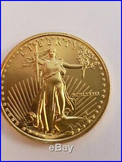1989 US American Gold Eagle $10 Ten Dollar 1/4 oz Liberty Bullion Coin