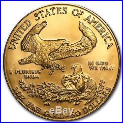 1991 1 oz Gold American Eagle BU (MCMXCI) SKU #7440