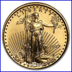 1997 1/10 oz Gold American Eagle BU SKU #7446