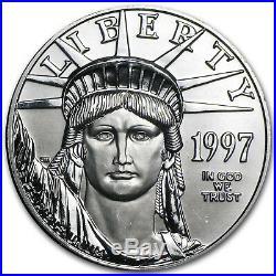 1997 1 oz Platinum American Eagle BU SKU #50127