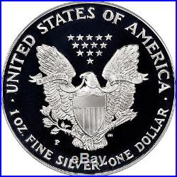1998-P American Silver Eagle Proof PCGS PR70 DCAM