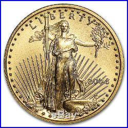 2004 1/10 oz Gold American Eagle BU SKU #147