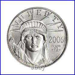 2006 American Platinum Eagle 1/10 oz $10 PCGS MS69 First Strike
