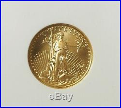 2007 $10 Gold Eagle NGC MS70 Early Releases - (#30029) NO RESERVE