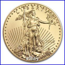2014 1/10 oz Gold American Eagle BU SKU #79044