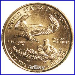 2014 $5 American Gold Eagle 1/10 oz. (Brilliant Uncirculated)