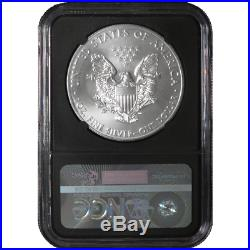 2015 (P) $1 American Silver Eagle NGC MS69 1 of 79,640 Struck Retro Core