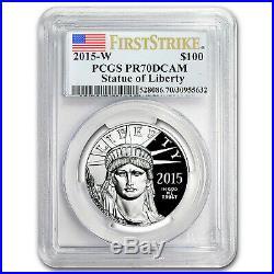 2015-W 1 oz Prf Platinum American Eagle PR-70 PCGS (First Strike) SKU #93892