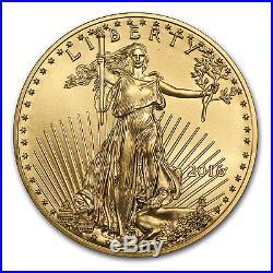 2016 1 oz Gold American Eagle BU SKU #93743