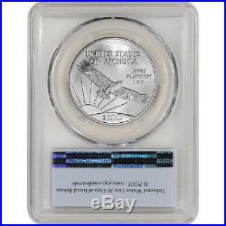 2016 American Platinum Eagle (1 oz) $100 PCGS MS70 First Strike