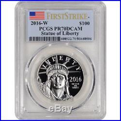 2016-W American Platinum Eagle Proof (1 oz) $100 PCGS PR70 DCAM First Strike