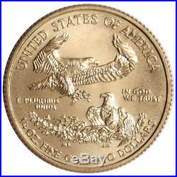 2017 $10 American Gold Eagle 1/4 oz Brilliant Uncirculated