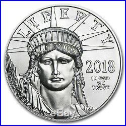 2018 1 oz Platinum American Eagle BU SKU#152866