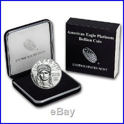 2018 1 oz Platinum American Eagle BU (withU. S. Mint Box) SKU#152919