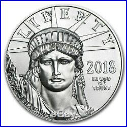 2018 1 oz Platinum American Eagle MS-70 PCGS (LL) SKU #171593