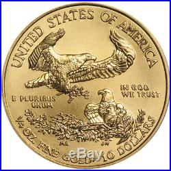 2018 $10 American Gold Eagle 1/4 oz Brilliant Uncirculated