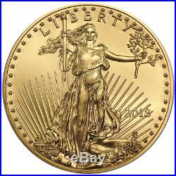 2018 $25 American Gold Eagle 1/2 oz Brilliant Uncirculated