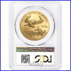 2018 $50 American Gold Eagle 1 oz. PCGS MS70 First Strike Made in USA Label