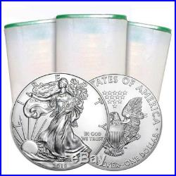 2018 American $1 Silver Eagle Roll Of 20 Coins 999 Fine Silver 20 Troy Ounces
