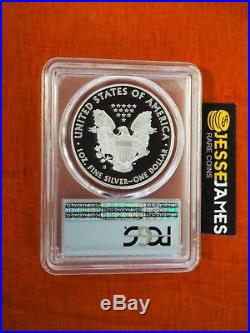 2018 S Proof Silver Eagle Pcgs Pr70 Dcam Flag First Day Of Issue Philadelphia