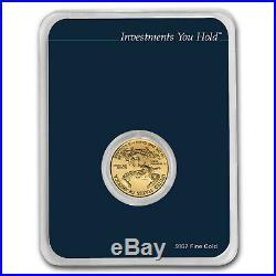 2019 1/10 oz Gold American Eagle (MintDirect Single) SKU#171452