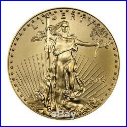 2019 1/2 oz Gold American Eagle $25 GEM BU SKU55912