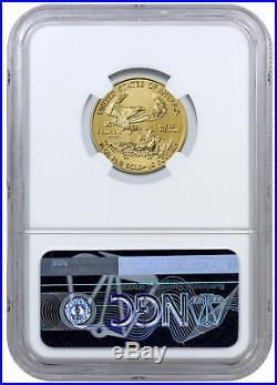 2019 1/4 oz Gold American Eagle $10 NGC MS69 SKU56111