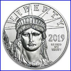 2019 1 oz Platinum American Eagle BU (withU. S. Mint Box) SKU#185245