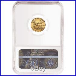 2019 $5 American Gold Eagle 1/10 oz. NGC MS69 ALS ER Label