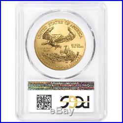 2019 $50 American Gold Eagle 1 oz. PCGS MS70 FDOI Flag Label
