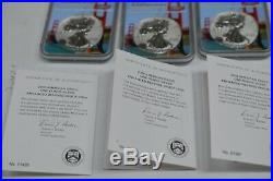 2019 S $1 ENHANCED REVERSE PROOF SILVER EAGLE NGC PF70 Early Release