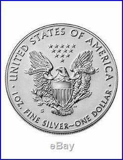 2019 S American Eagle One Ounce Silver Enhanced Reverse Proof Coin 19XE IN HAND