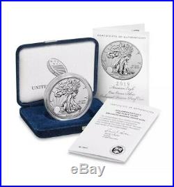 2019 S American Eagle One Ounce Silver Enhanced Reverse Proof Coin PCGS SET