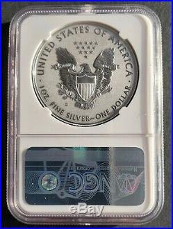 2019-S American Eagle One Ounce Silver Enhanced Reverse Proof Coin PF70 No COA