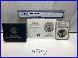 2019-S Silver American Eagle Early Releases Enhanced Reverse Proof NGC PF69 $1