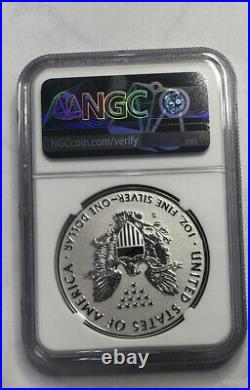2019 S Silver Eagle Reverse Proof Enhanced Ngc Pf70 Coa. 08153 Ogp Included