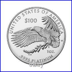 2019-W American Platinum Eagle Proof 1 oz $100 PCGS PR70 First Strike 1 of 250