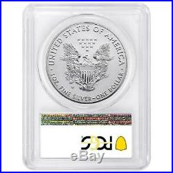 2019-W Reverse Proof $1 American Silver Eagle PCGS PR69 Pride of Two Nations U. S