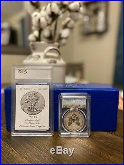 2019-s American Eagle One Ounce Silver Enhanced Reverse Proof Coin PR70 PCGS